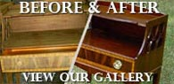 View our Before & After examples of fine woodworking and furniture restoration