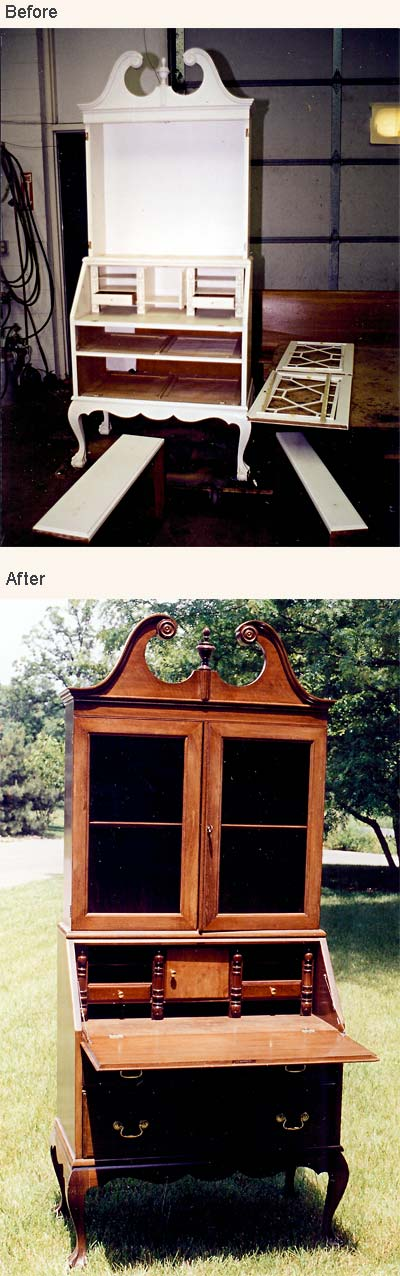 Before amp After Client Furniture Repair Restoration